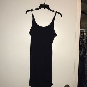 Dresses & Skirts - Navy blue fitted t-shirt dress NWOT
